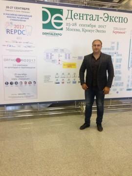 Посещение международной выставки DENTALEXPO